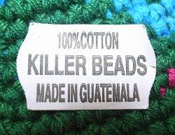 画像3: KILLER BEADS Dreadlocks Cotton Knit Cap ドレッドロックス帽 レゲエ・タム #172