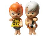 KENNER PRODUCTS  FLINTSTONES Pebbles and Bamm-Bamm 1980'S 2体