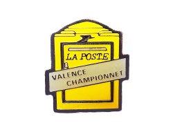 """画像1: Vintage Pins(ヴィンテージ・ピンズ) #0798 """"LA POSTE VALENCE CHAMPION NET"""""""