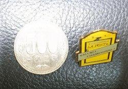 """画像3: Vintage Pins(ヴィンテージ・ピンズ) #0798 """"LA POSTE VALENCE CHAMPION NET"""""""