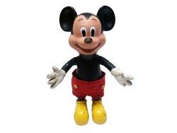 画像1: Mickey Mouse Figure 1970'S Vintage ミッキー・マウス フィギュア 香港製