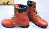 Deadstock 1980'S RED WING  2195 Irish Setter 白犬四角タグ(Made in America) 茶箱