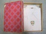 Deadstock 1950'S TOM SAWYER 綿 ロングポイント・オープンシャツ 箱入 USA製