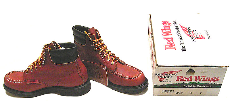 5200b7f98ba Deadstock 1988-94'S RED WING 204 6inch Oro Russet×Super Sole USA製 ...