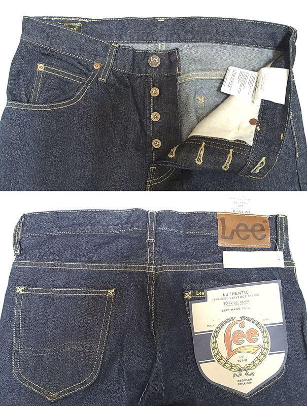 J Crew別注 Lee 101 B Japan Selvege Denim Stright Jeans One