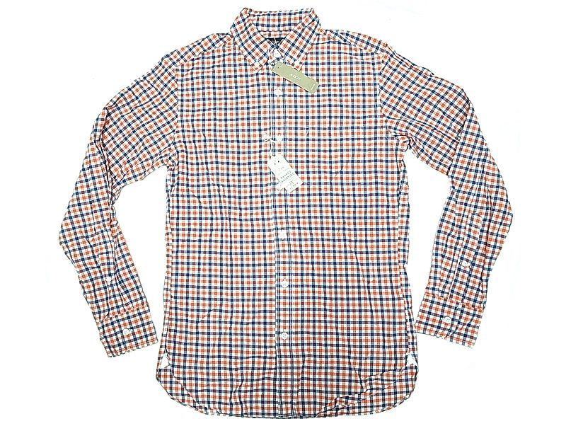 J crew 2 ply cotton gingham b d shirts for 2 ply cotton shirts