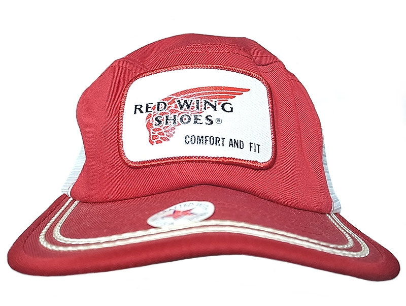 deadstock 1980 90 s red wing mesh cap made in usa レッドウイング